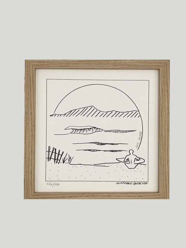 """TABLEAU SURF SHACK """"LES ESTA"""""""